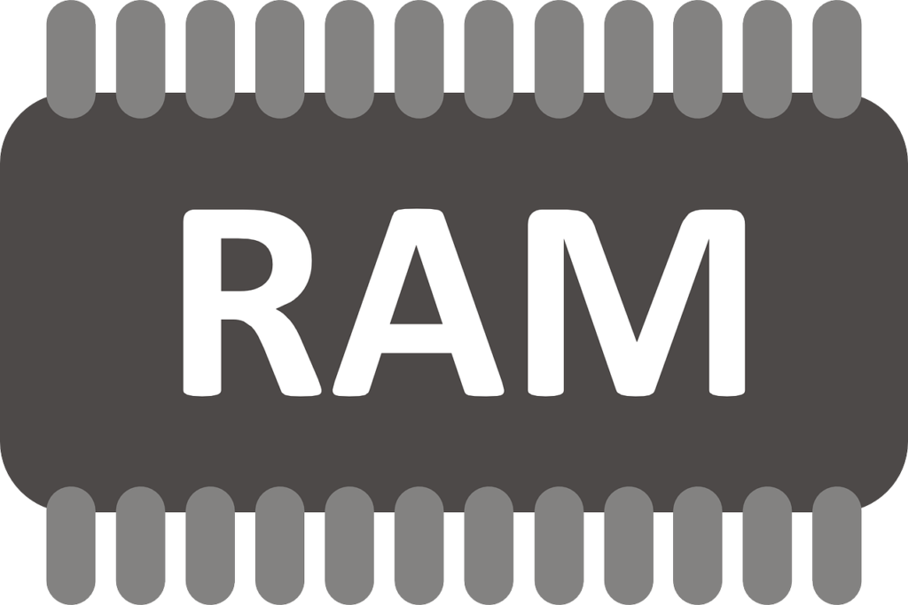 RAM chip illustration