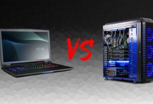 Laptop vs desktop gaming PC